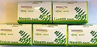Patanjali Kanti Neem Body Cleaner - 75gm Pack of 5