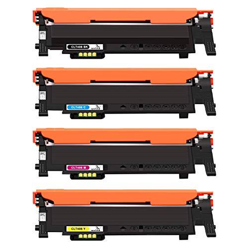 ONINO Kompatibel Toner CLT-406S für Samsung Xpress C410W C460W CLX-3300 CLX-3305 CLX-3305FN CLP-360 C460FW CLP-360N SL-C467W CLP-365 CLP-365W CLP-368