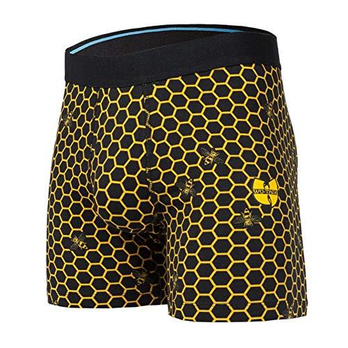 Stance Hive Wholester Boxer Shorts Medium Black