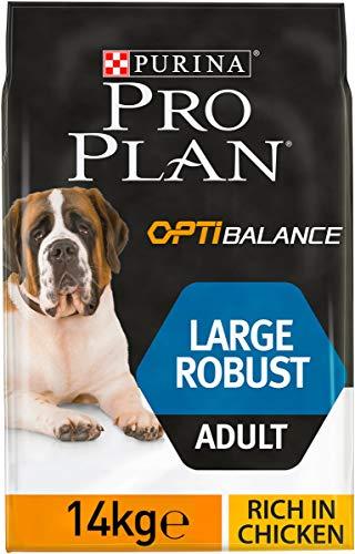 PRO PLAN Large Adult Robust avec OPTIBALANCE Riche en Poulet - 14 KG - Croquettes pour chiens adultes de grande taille