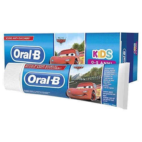 Oral-B Dentifricio per Bambini con personaggi Disney Frozen o Cars - 75ml