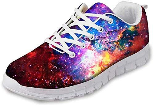 MODEGA Sneakers Mujer Zapatillas de Deporte para Mujer Tienda Zapatos Online Zapatillas Deportivas Baratas Calzado Casual Hombre Zapatillas Talla 6.5 UK|39 EU