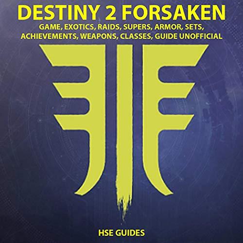 Destiny 2: Forsaken audiobook cover art