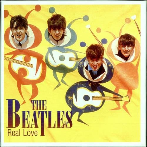 Real Love UK box set (36-page black & white book) 1995 Not CD