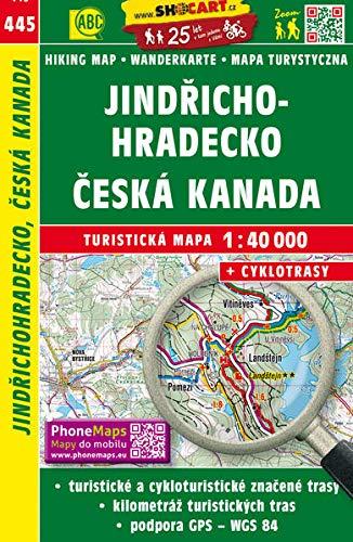 Jindřichohradecko, Česká Kanada / Neuhaus, Böhmisch Kanada (Wander - Radkarte 1:40.000) (SHOCart Wander - Radkarte...