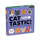 Mudpuppy Cat-Tastic! Board Game – Exciting Cat Board Game for 2-4 Players, Teaches Real Life Cat Caring Skills – Ideal for Ages 6+ – Great Cat Lover's Gift Idea, Multicolor
