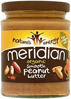 Meridian - Organic Peanut Butter Smooth 100% - 280g
