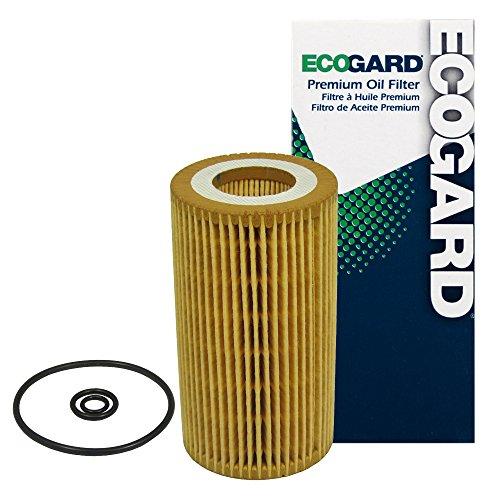 ECOGARD X5536 Premium Cartridge Engine Oil Filter for Conventional Oil Fits Dodge Sprinter 2500 2.7L DIESEL 2003-2006