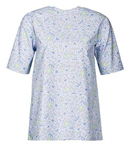 Gebr. Heinemann Kinder Patientenhemd Krankenhemd Pflegehemd (0, Strand)