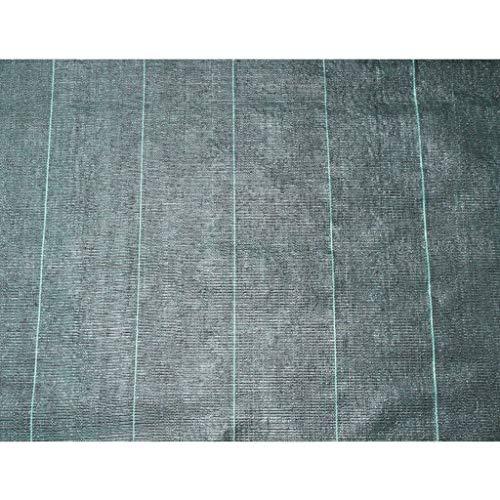 Nature Toile de paillage Noir 2x5 m 6030301 Bâche de paillage résistante aux UV