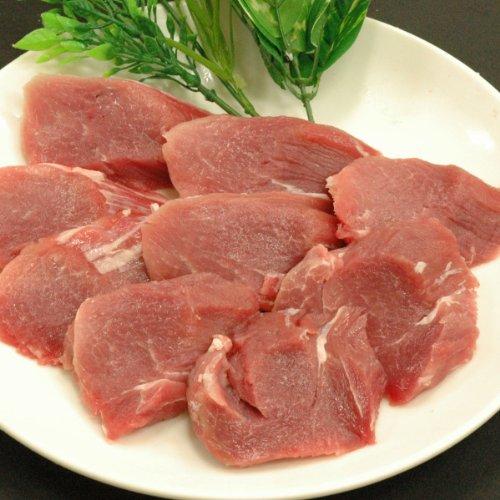 豚肉 もち豚秀麗 ヒレ肉 1kg (100gカット)