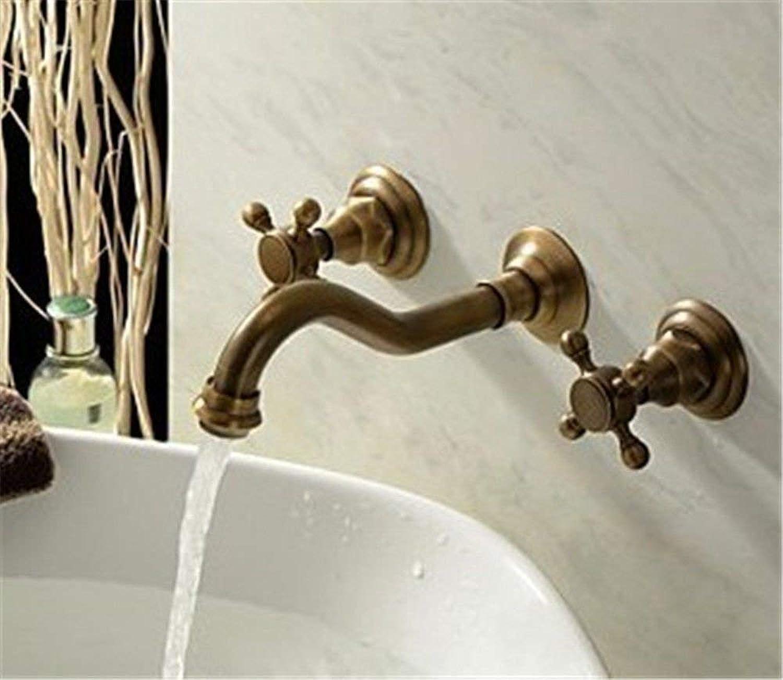Oudan Kitchen tap solid brass bath sink faucet sink faucet kitchen sink basin mixer tap (color   -, Size   -)