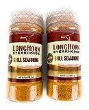2 Pack Longhorn Steakhouse Signature Grill Seasoning