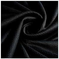 接触冷感 生地 手芸布 UVカット ひんやり 吸水速乾 抗菌防臭 手作り 手づくり ハンドメイド 冷感生地 巾50cm×長さ185cm ブラック