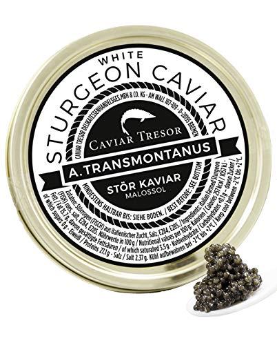Italienischer Osietra v. weißem Stör Kaviar 250 gr.