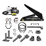 10 Ton (20,000 lb) Dump Trailer Hydraulic Scissor Hoist Kit   Model PH520   Perfect for Dump Bed Trailers (Standard)