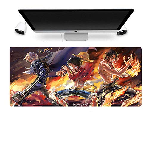 One Piece Mouse pad Anime Gaming Mouse pad 9004003mm inch Stitched Edge Waterproof Mouse pad Pixel Perfect Mouse pad-A_700X400mm