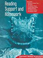 Science, Grade 6 Reading Support & Homework: Harcourt School Publishers Science (Hsp Sci 09)