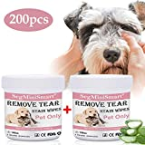 Best Eye Stain Remover For Dogs - Dog Tear Stain Remover Wipes,Pet Eye Wipes,Cat Eye Review
