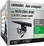 Rameder Attelage rotule démontable pour Mercedes-Benz Classe C Coupe Sport + Faisceau 13 Broches (161355-04708-1-FR)
