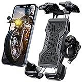 """Tisoutec Handyhalterung Fahrrad Motorrad Fahrrad Handyhalterung 360° Verstellbare Mountainbike Halter für iPhone / Samsung / Huawei / XIAOMI Serie Telefon mit Einer Größe Zwischen 4""""-7"""""""