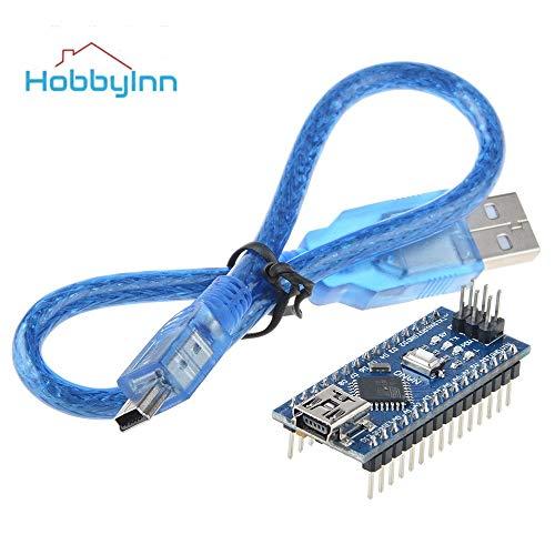 Scheda compatibile Arduino Nano V3.0 ATMega328P CH340G con cavo USB