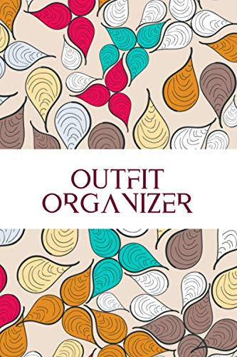 Outfit Organizer: All in One Wardrobe Planner, Clothes Planner, Daily, Weekly, Monthly Outfit Planner, Fashion Organizer, Gifts for Fashion Designer, ... Events, Birthday, Christmas, Thanksgiving