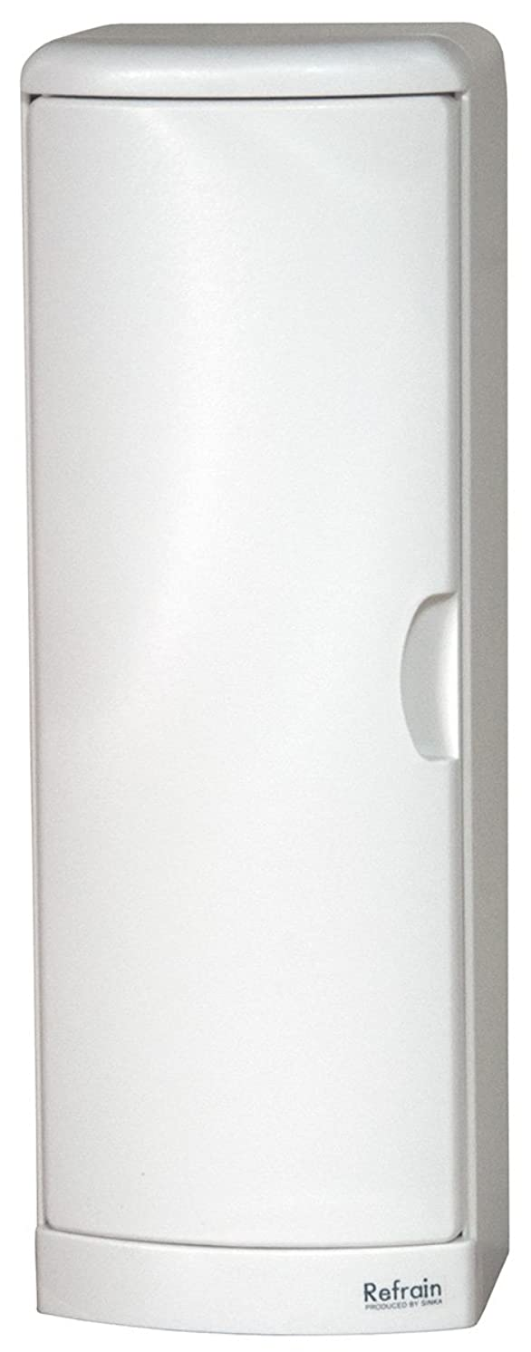 原理誕生スクリューシンカテック トイレ収納ケース シングル N ホワイト