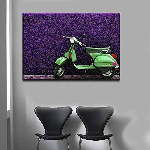 keletop 1000pcs_Wooden Adult Puzzle_Scooter Vehicle_Puzzle Puzzle Toy Rompecabezas de Madera Decoración Moderna del hogar_50x75cm