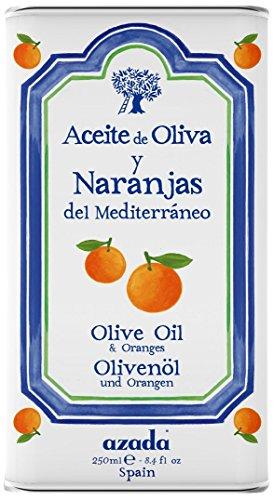 Azada Orange aromatisiert extra reines olivenöl 250ml