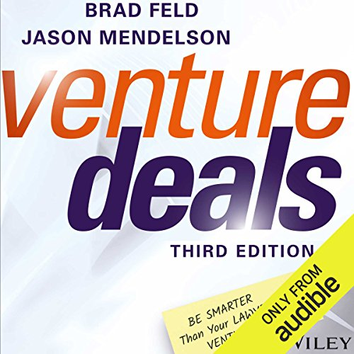 Venture Deals, Third Edition audiobook cover art