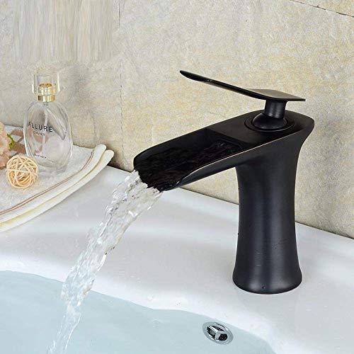 LXYZ Grifo de cocina de níquel cepillado, color negro, pulverizador, doble función, flujo de agua, caño giratorio, grifo monomando para lavabo