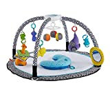 Fisher-Price DFP71 Jonathan Adler Sensory Gym Baby Playmat Suitable From Birth for New-borns with Music and Lights
