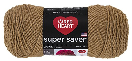 RED HEART Super Saver Yarn – Warm Brown