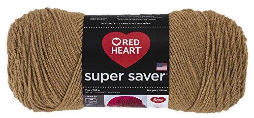 RED HEARTSuper Saver Yarn – Warm Brown