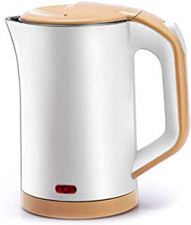 LJBH Portable Travel Insulation Electric Kettle, 0.8L, White,small Capacity,Easy To Carry,heat Preservation,Applicable Vol...