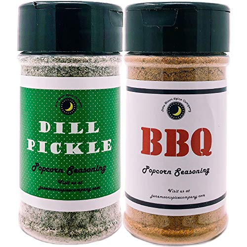 Best Review Of Premium | POPCORN SEASONING | Variety 2 Pack | Dill Pickle Popcorn Seasoning | BBQ Po...