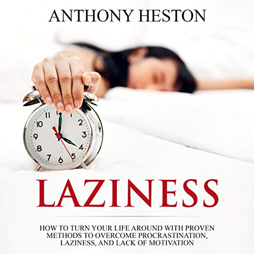 Laziness audiobook cover art
