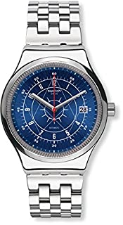 Swatch Mens Analogue Automatic Watch with Stainless Steel Strap YIS401G (B01M0IA0IR) | Amazon price tracker / tracking, Amazon price history charts, Amazon price watches, Amazon price drop alerts