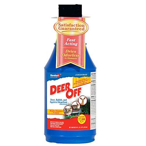 Deer Off Deer, Rabbit, and Squirrel Repellent Concentrate, 16 oz. Bottle