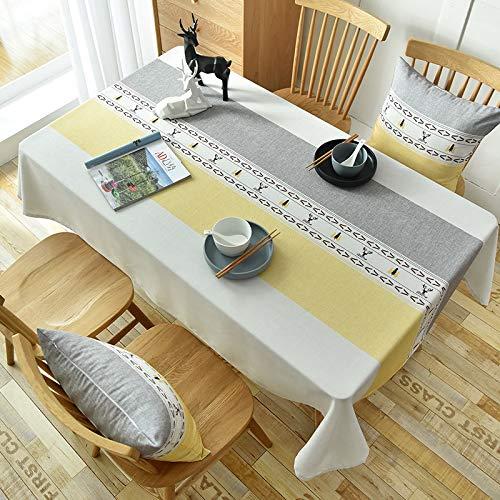 marca blanca Mantel de PVC con un paño de hule de vinilo para mesa de cocina, protector de 120 x 170 cm