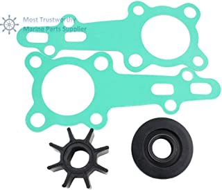 Ignar Boat Engine New Water Pump Impeller Service Kit for Replacement Honda BF8A 06192-881-C00 18-3279