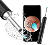 BEBIRD Ear Wax Removal Endoscope, Earwax Remover Tool, Ear Camera,1080P FHD Wireless Ear Otoscope with 6 LED Lights,Ear Scope with Ear Wax Cleaner Tool for iPhone, iPad & Android Smart Phones (Black)