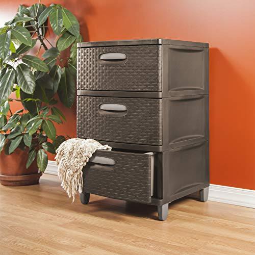 sterilite small 3 drawer unit - 5