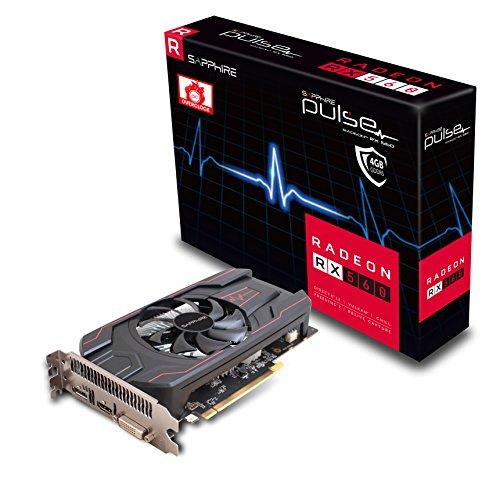 Sapphire Pulse Radeon RX 5604GB GDDR5HDMI DVI DP D OC (uefi) 1300MHz 1750MHz 128Bit 2Slot Active