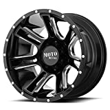 Moto Metal Amp MO982 Gloss Black Milled 17x9 6x139.7 -12