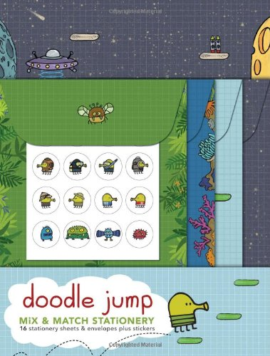 Doodle Jump Mix and Match Stationery