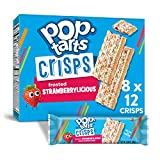Pop-Tarts, Crisps, Frosted Strawberrylicious, 5.9oz Box (Pack of 8)