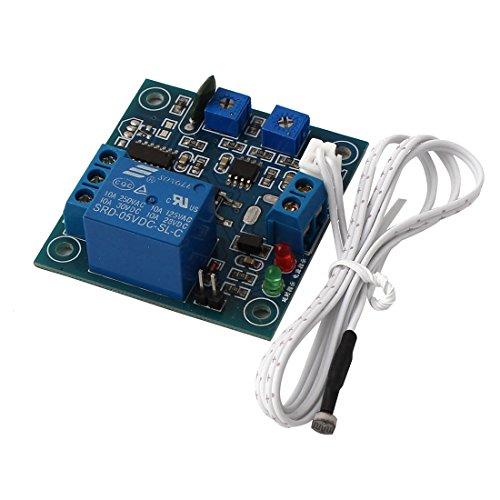 Aexit DC 5V SRD-05VDC-SL-C Lichtsteuerung Zeitverzögerung Fotowiderstand-Relaismodulplatine (c7fe52840b60042b8b323d9bff4a9499)