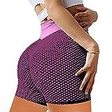 Xiaoyaoyou Peach Hip Shorts,Leggings for Women High Waist Yoga Shorts Bodybuilding Yoga Shorts for...
